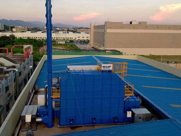 rto处理完废气的温度一般是多少